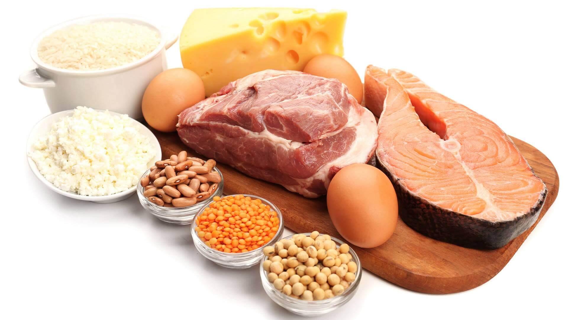 диета из белковых продуктов