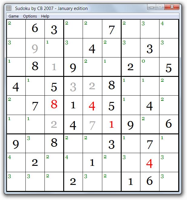 Скачать Судоку бесплатно  Sudoku by CB