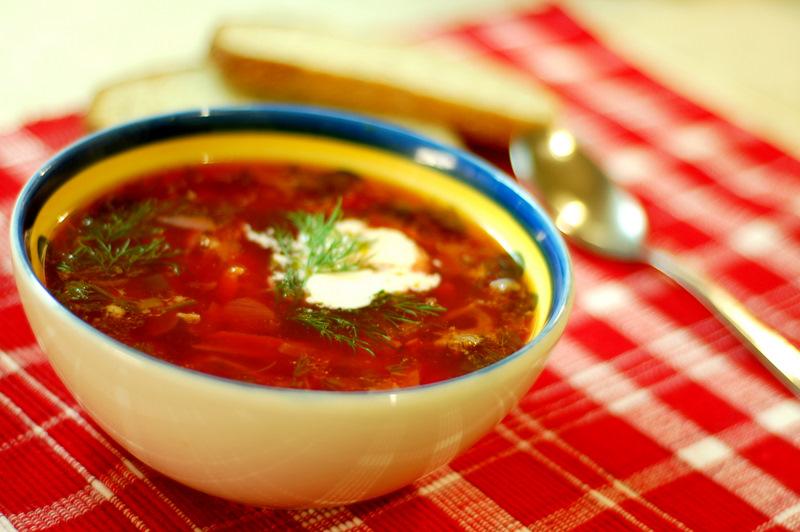 как приготовить украинский борщ пошаговый рецепт с фото