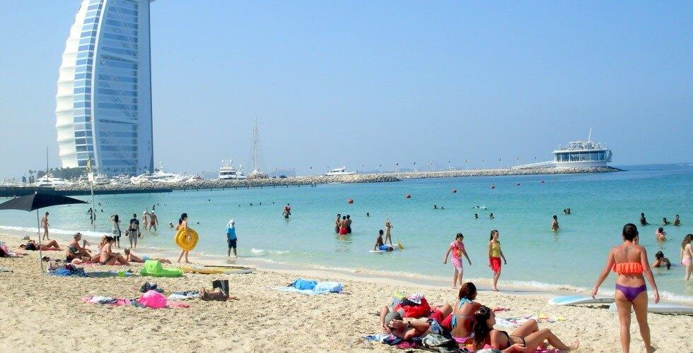 Пляжи Объединенных Арабских Эмиратов
